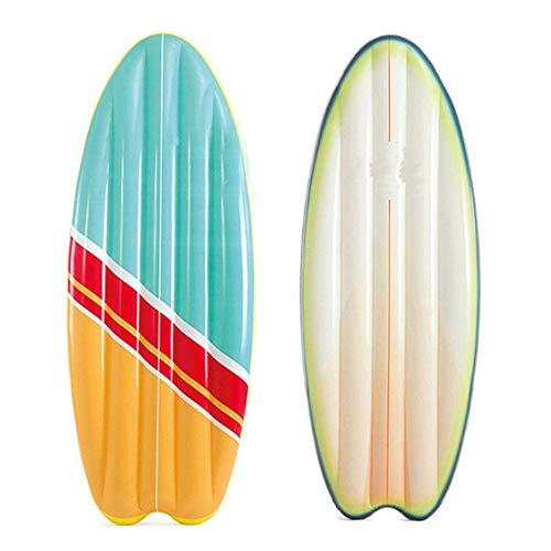 Aufblasbare Surfmatte, Aufblasbare Lange Schwimmende PVC-Reihe, Schwimmendes Bett Für Kinder-Wasserschwimmsessel, Aufblasbare Schwimmende Surfmatte Geeignet Zum Surfen Am Strandspielzeug,70*27cm