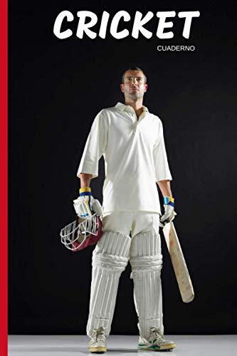 Cricket Pasión Cuaderno: 120 páginas forradas | Regalo de adulto, hombre, mujer, adolescente y niño para Navidad o cumpleaños