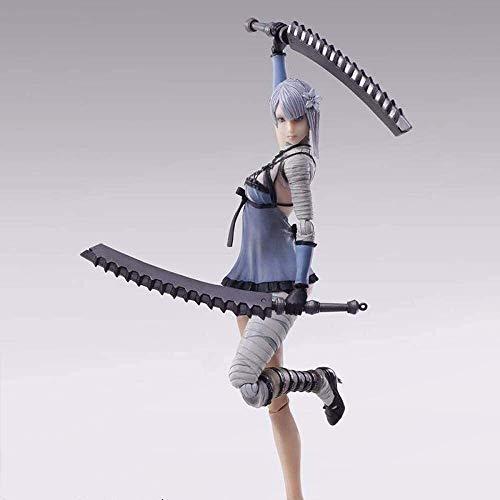 SHUMEISHOUT El nuevo personaje de anime PVC modelo pretender forma Kenny hecho a mano kit de resina kit de garaje, estatua de juguete modelo decoración de escritorio altura alrededor de 14 cm