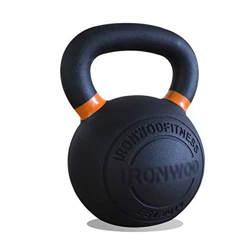 XLOO Kettlebell,Kugelhantel Aus Gusseisen,4 kg,6 kg,8 kg,10 kg,12 kg,16 kg,20 kg,24 kg,Fitnessübung zu Hause Oder Im Fitnessstudio,Sport Fitness