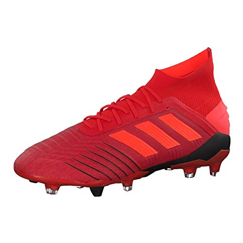 adidas Herren Predator 19.1 Fg Fußballschuhe, Mehrfarbig (Rojact/Rojsol/Negbás 000), 42 EU