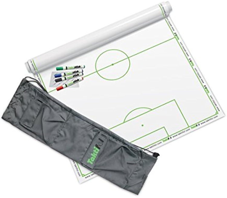 Taktifol Set  Fußball  mit 25 Blatt (1 Rolle), 4 Stiften, Reinigungstuch und Tragetasche B01G58ZKSC  Neuer Eintrag