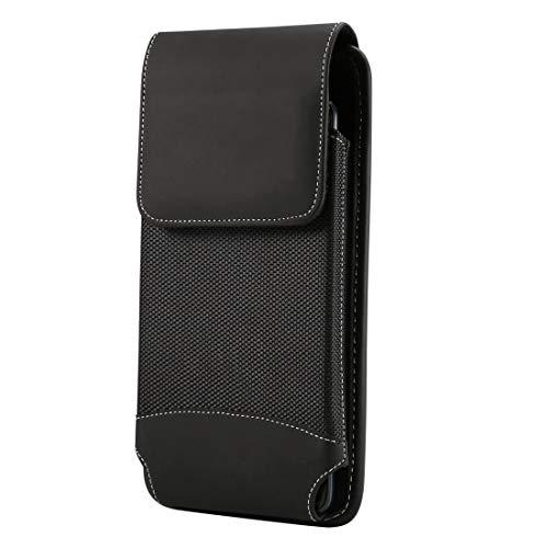 Ebogor para Caja Universal de Cintura para Colgar Oxford Funda para Xiaomi MI MAX/MI MAX 2 / Huawei MATE20X / Honor 8X MAX / note10 / note8 y Otros teléfonos móviles de 6.4-6.5 Pulgadas, con mosquet