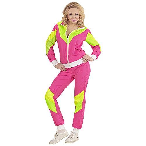 Widmann 98811 Erwachsenenkostüm 80er Jahre Trainingsanzug, womens, S