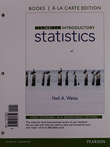 Introductory Statistics, Books a la Carte Plus NEW MyLab Statistics with Pearson eText -- Access Card Package (10th Edit