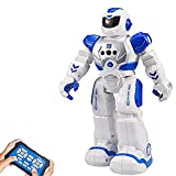 Samate Remote Control RC Robots for Childrens,Interactive Singing Walking Dancing Smart Programmable Robotics,LED Eyes,Gesture Sensing Robot Kit for Kids Entertainment,Great Christmas Or New Year Gift