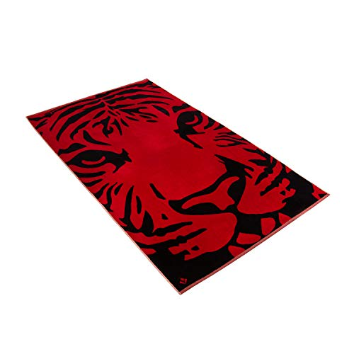 Vossen Strandtuch Indian Tiger Purpur, 100 x 180 cm
