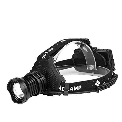 P70 LED Faro Táctico Zoom Retráctil Impermeable USB Recargable 3X18650 Batería De Litio 1500 Lúmenes De Salida De Soporte, Adecuado Para Senderismo, Camping, Autodefensa 11,5 * 8 * 5 CM DXY
