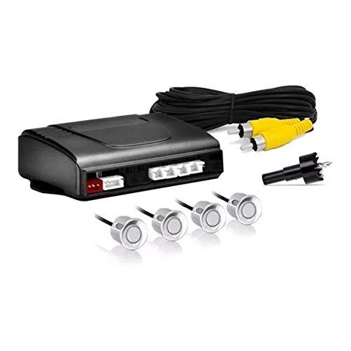 Sensor de Estacionamento Orbe Universal 4 Pontos com Buzzer sem Display Prata B085-Prata