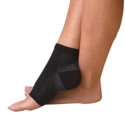 2 Pairs 4 Pieces per package PEDIMEND Plantar Fasciitis Socks with Arch Support Compression Sleeve Ankle Support Best For Heel Pain Relief L UK 10 125 Large