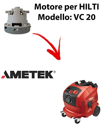 Motor Ametek-Saugschlauch für Staubsauger Hilti–VC 20