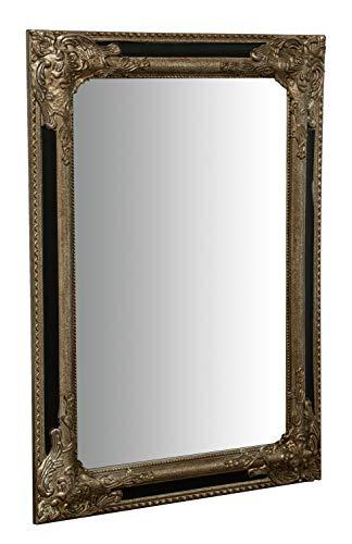 Biscottini Espejo de pared y colgante vertical/horizontal W50xDP3xH70 cm acabado dorado antiguo