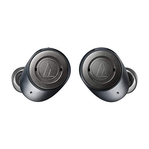 Audio-Technica ATH-ANC300TW - Auriculares intraurales inalámbricos con cancelación de ruido activo, negro