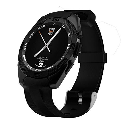 Orologio sportivo orologio sportivo kajs-g5-b Music SMS/WeChat informazioni Timely promemoria, display 1.2ad alta definizione Full Round, fitness tracker