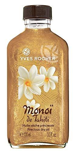 Yves Rocher, Monoi de Tahiti (100ml):olio glitterato per il corpo dall odore dei fiori di Tiaré, con componenti di origine vegetale