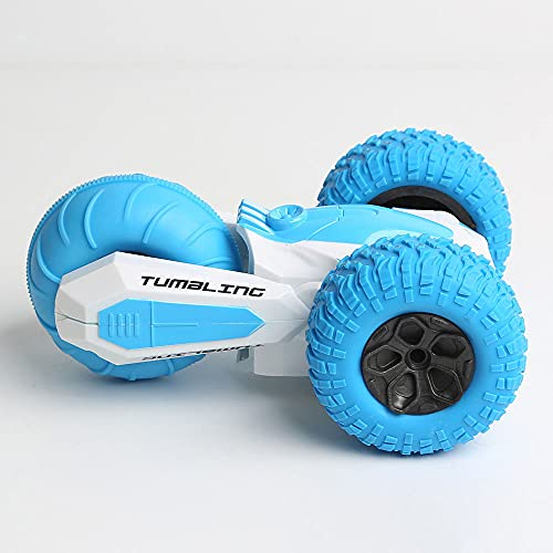 DFERGX 2.4G Stunt Car Memory Pulsera Coche De Inducción Coche RC Giratorio Brazo Oscilante Coche para Niños De Doble Cara Todo Terreno Vehículo De Escalada Vehículo Todoterreno para
