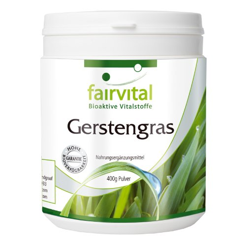 Gerstegras poeder - VEGAN - 400 g - Zuivere stof zonder toevoegingen