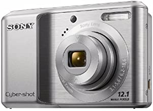Sony DSC-S2100 12.1MP Digital Camera with 3x Optical Zoom with Digital Steady Shot Image Stabilization and 3.0 inch LCD (Silver)