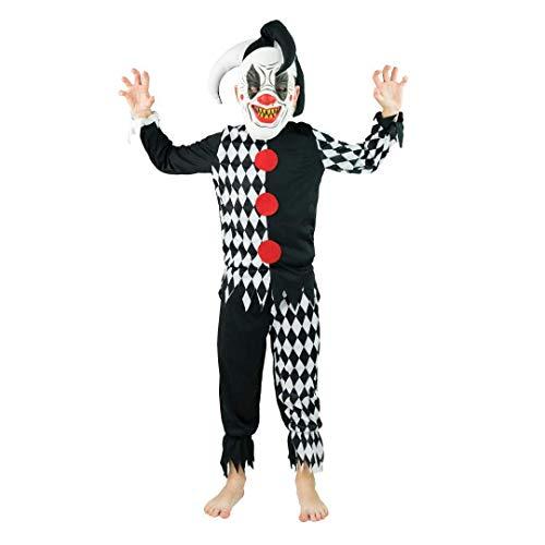 Bodysock® Hofnarr Kostüm für Kinder (4-6 Jahre)
