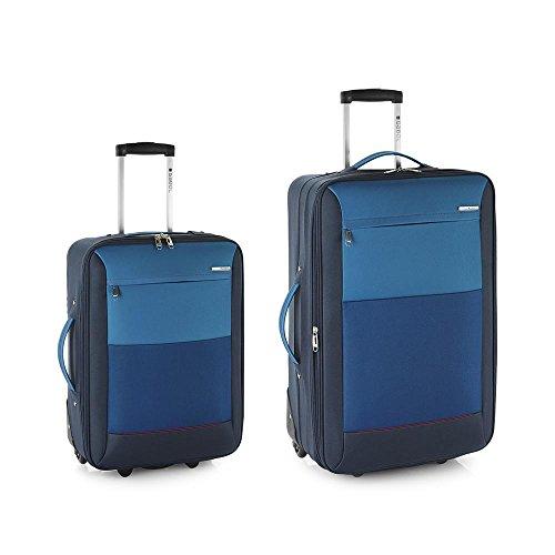 Set 2 maletas Reims azul