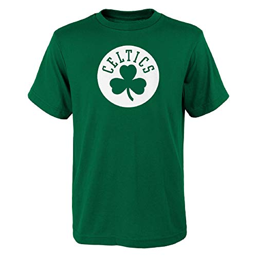OuterStuff NBA Boston Celtics Youth Primary Basketball - Camiseta para niño (talla...