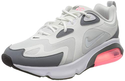 Nike Damen W AIR MAX 200 Laufschuhe, Grigio Pure Platinum White Cool Grey 004, 37.5 EU