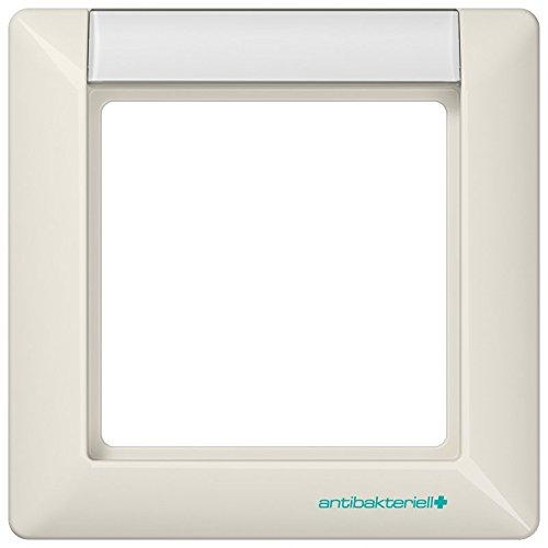 Jung ABAS 581 NA Rahmen 1fach AS 500 antibakteriell weiß