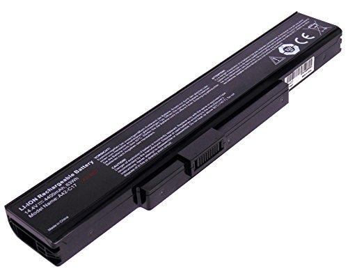 YASI MFG Medion Laptop Akku Batterie A32-C17 A41-C17 A42-C17 14,4V 4400mAh für Medion Akoya E7223 E7223T E7225 E7225T E7226T E7227 E7227T P7627 P7627T P7628 P7631 P7631T Notebook Batterie