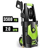 CHAKOR Pressure Washer 3500 PSI, 2.0GPM Power Washer Machine, 1800W High Pressure Cleaner with 4...