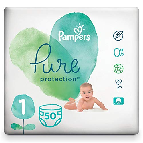 Pampers 81685102 Pure Protection windeln, weiß