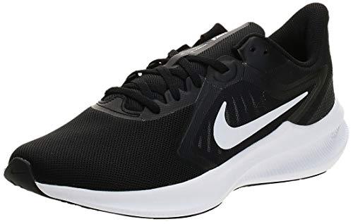 Nike Damen Downshifter 10 Bootsschuh, Schwarz Weiß, 41 EU
