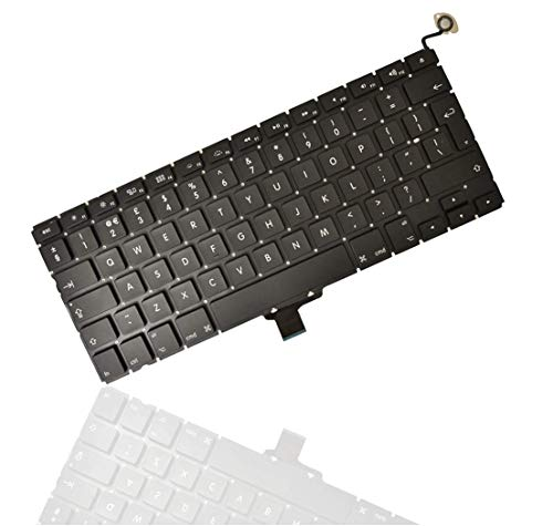 THE TECH DOCTOR Replacement Internal Keyboard UK Layout for Apple MacBook Pro A1278 13' Unibody 2009 2010 2011 2012