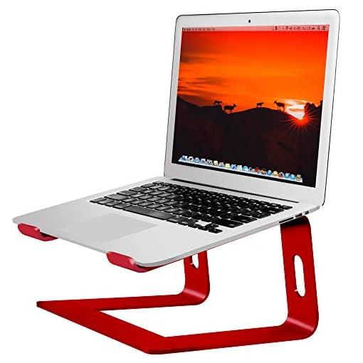 SOUNDANCE Soporte para Portátil, Soporte Ordenadores Portátiles, Soporte para Laptop de Aluminio, Bases de Portátiles… 1