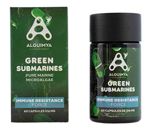 Alguimya Green Submarines Inmuno 60Cap. 200 g 1 Unidad