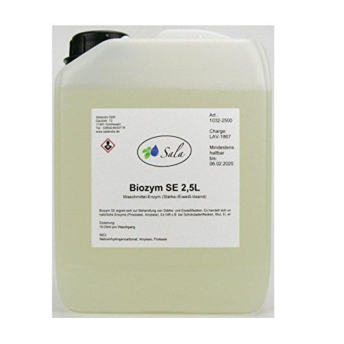 SALA Biozym SE Waschmittelzusatz 2,5 L Liter