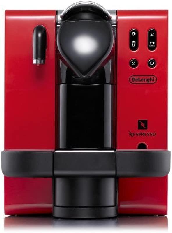 DeLonghi EN660 R Nespresso Lattissima Single Serve Espresso Maker Red
