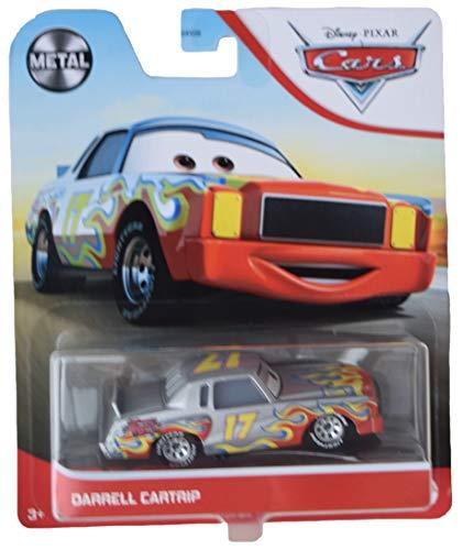 Disney Pixar Cars Darrell Cartrip, Metal Series