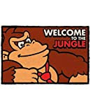for-collectors-only Felpudo Entrada casa Donkey Kong Welcome To The Jungle, Coco, marrón, 40 x 60 cm