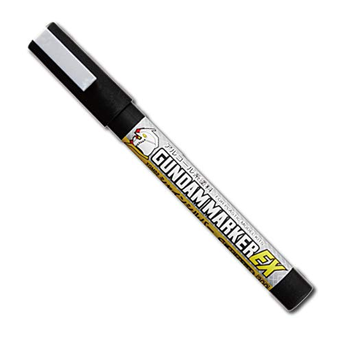 GSIクレオス ガンダムマーカーEX シャインシルバー 模型用塗料 XGM02