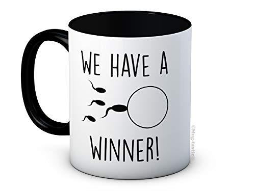 We Have a Winner! - Anuncio de Embarazo - Taza de Café de Cerámica