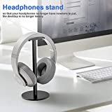 weemoment Headset Holder - Headset Display Stand - Aluminum Alloy Headset Rack Durable
