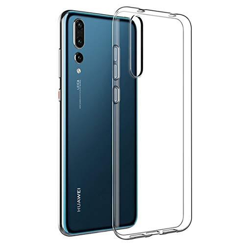 cookaR Custodia Huawei P20 PRO, Protettiva in Silicone Morbido Ultra Sottile Custodia Trasparente per Huawei P20 PRO. Cover per Huawei P20 PRO (Trasparente)
