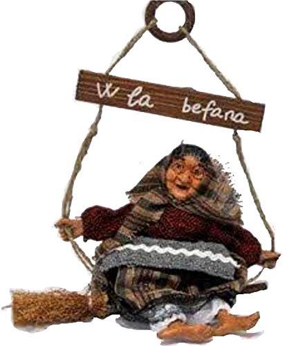 Creare Italia S.R.L. Befana Piccola su Altalena con Scopa