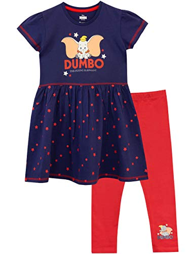 Disney Vestido y Leggings para niñas Dumbo