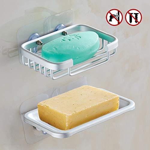 4 confezioni Yeegout Vite pastiglie adesive per porta sapone senza foratura