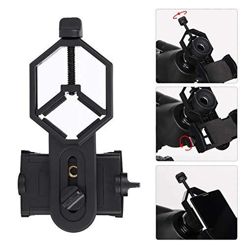 Diyeeni Universele telefoonadapter, 5,2-10 cm smartphone mobiele telefoonhouder adapter voor monokulare/telescoop/microscoop/Spectief/verrekijkers