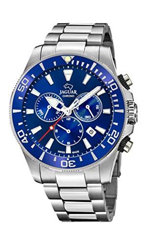 Jaguar Reloj Executive Diver XL, Hombre, (diametro Caja 46.5mm) Movimiento: CRONÓGRAFO- Suizo - Cristal: Zafiro (Executive Diver XL, J872/1)