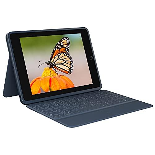 ロジクール Logicool iPad 10.2インチ 第8世代 第7世代 キーボード一体型ケース Rugged Combo3 iK1054EC 日本語レイアウトキーボード デジタル教育 スマートコネクター シンプルパッケージ 国内正規品 2年間メーカー保証 クラシックブルー