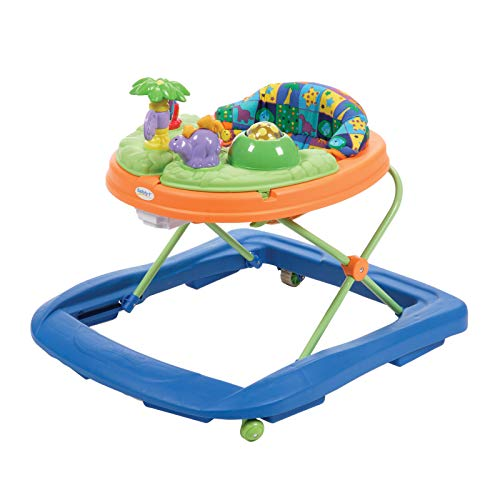 Safety 1st Dino Sounds 'n Lights Discovery Baby Walker with Activity...