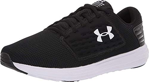 Under Armour Men's Surge Special Edition Running Shoe, Black (001)/White, 12